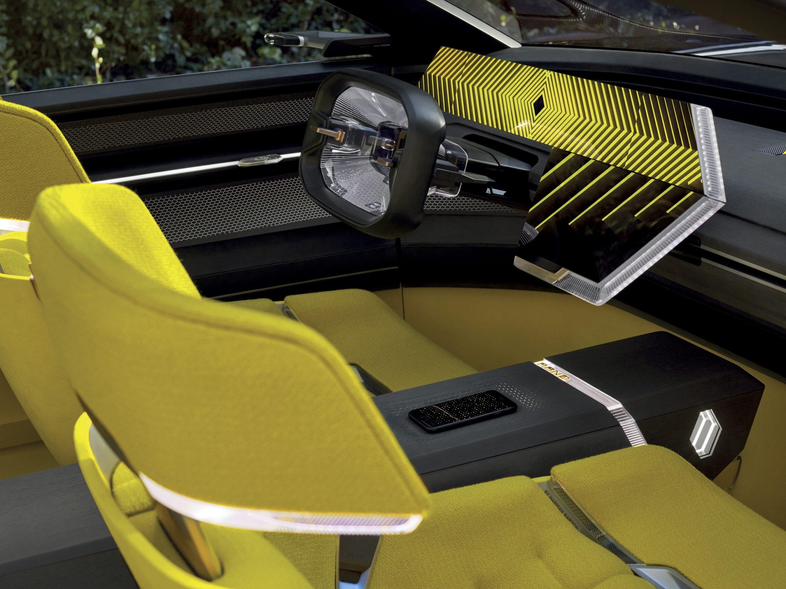 Renault Concept EV MORPHOZ Cockpit
