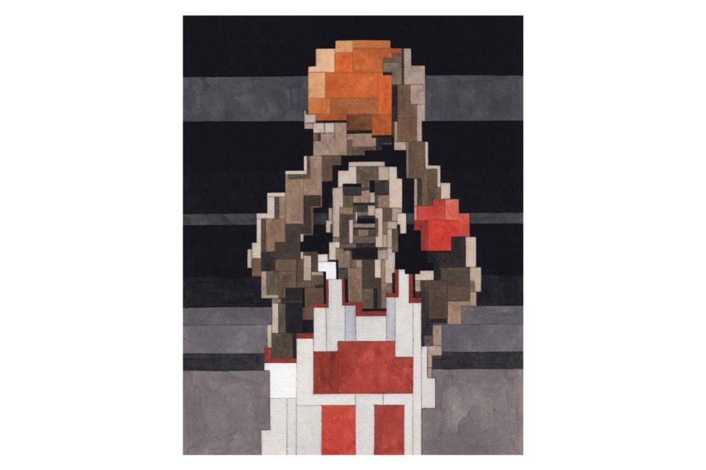 Adam Lister Michael Jordan MJ SHOOT