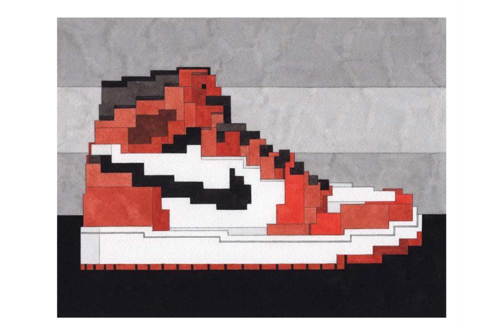 Adam Lister Michael Jordan MJ AIR 1