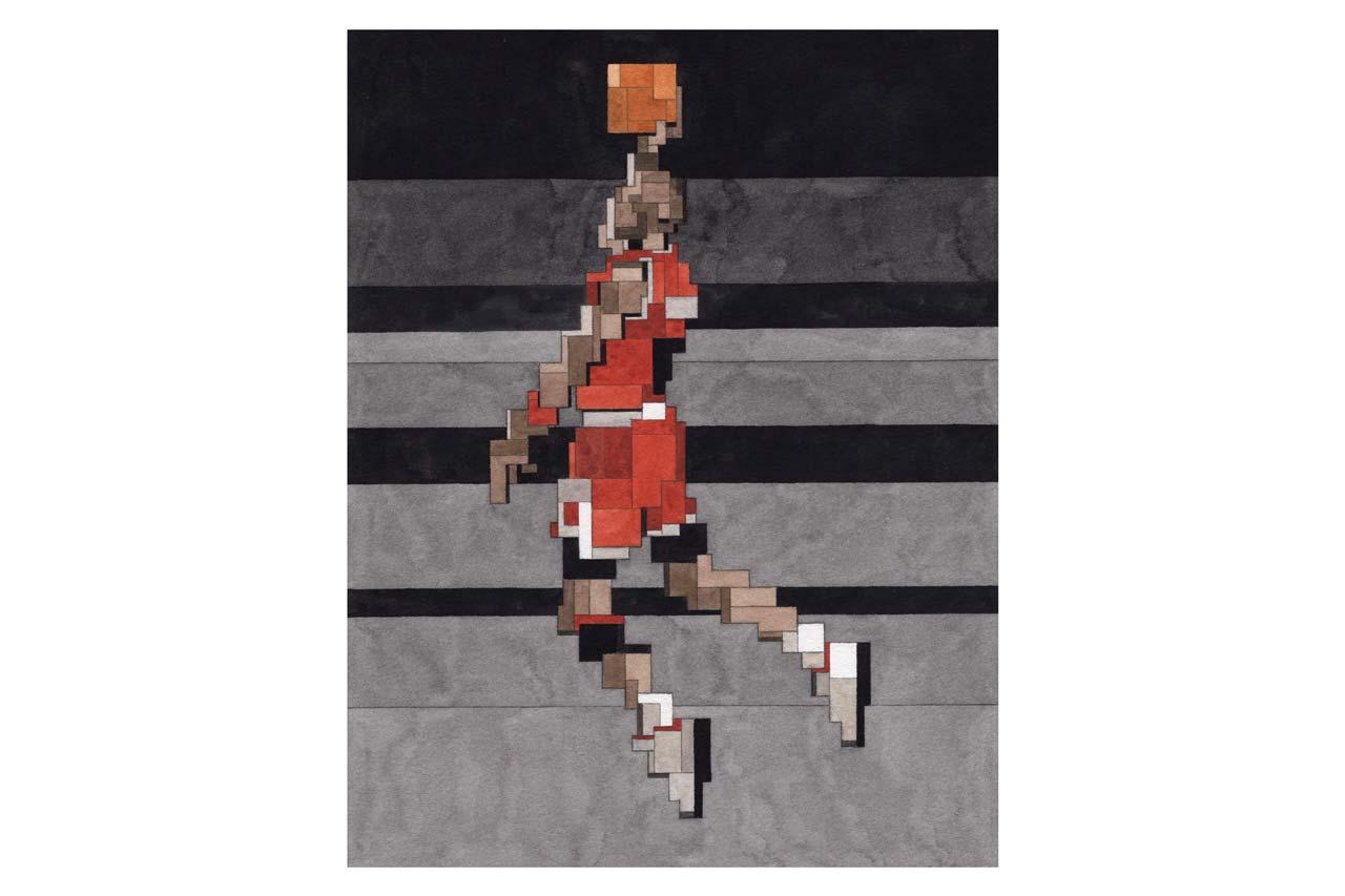 Adam Lister Michael Jordan MJ DUNK
