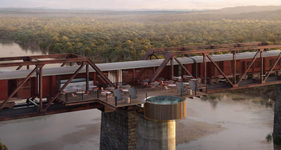 Kruger Shalati Train Lodge